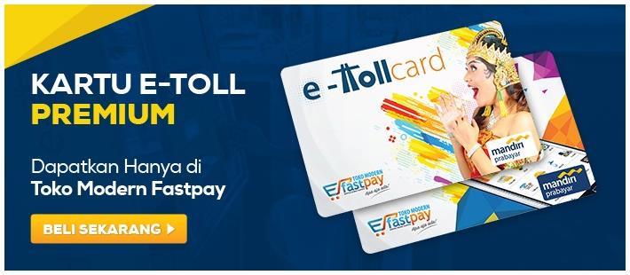 Kartu Emoney Fastpay! Design Kece & Makin Keren!