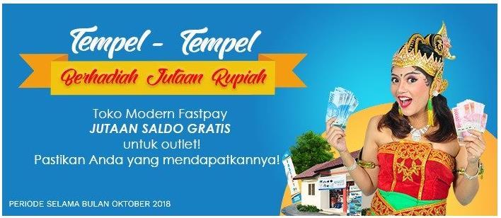 Tempel-Tempel Berhadiah Jutaan Rupiah