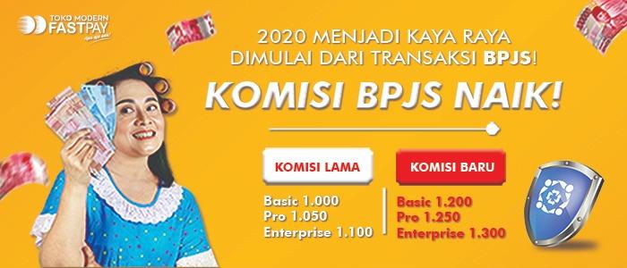 2020 Menjadi Kaya Raya Dimulai Dari Transaksi BPJS!