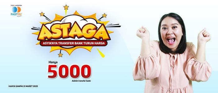 Wow! Biaya Admin Transfer Bank Anjlok dari 10ribu menjadi 5ribu