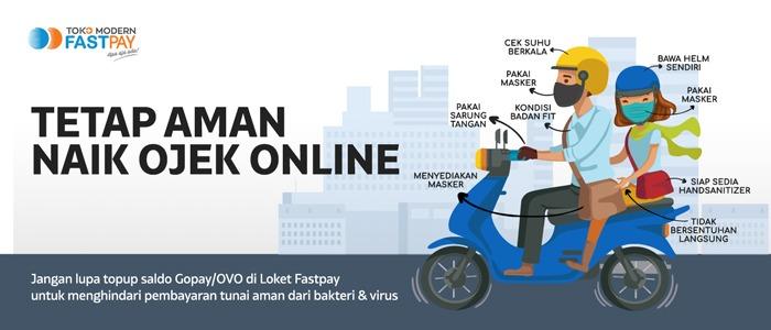 Tetap Aman naik Ojek Online di Masa New Normal! Wajib Simak Protokol Kesehatannya!