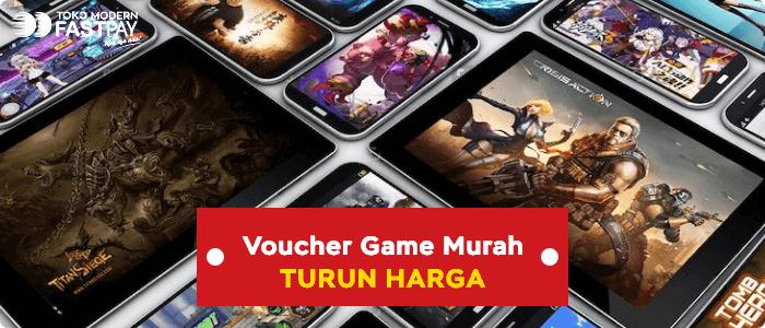 Voucher Game Murah Fastpay, Turun Harga