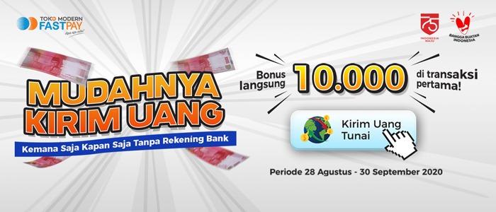 Layanan Kirim Terima Uang Tanpa Rekening Bank Mitra Fastpay